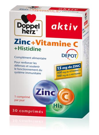 Doppelherz Zinc+Vitamine C+Histidine